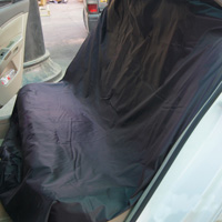 High Quality 1pcs Disposable Back Rear Bench Car Seat Covers Waterproof Cloth - Black