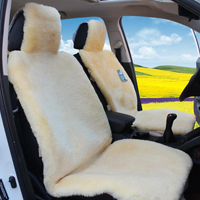 Top Quality Full Set Car Seat Covers Faux fur Interior Cushion Styling Winter Plush Pad