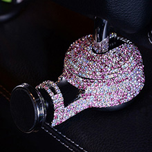 Diamond Crystal Car Phone Holder Magnetic Mobile Stand Magnet Support Cell GPS