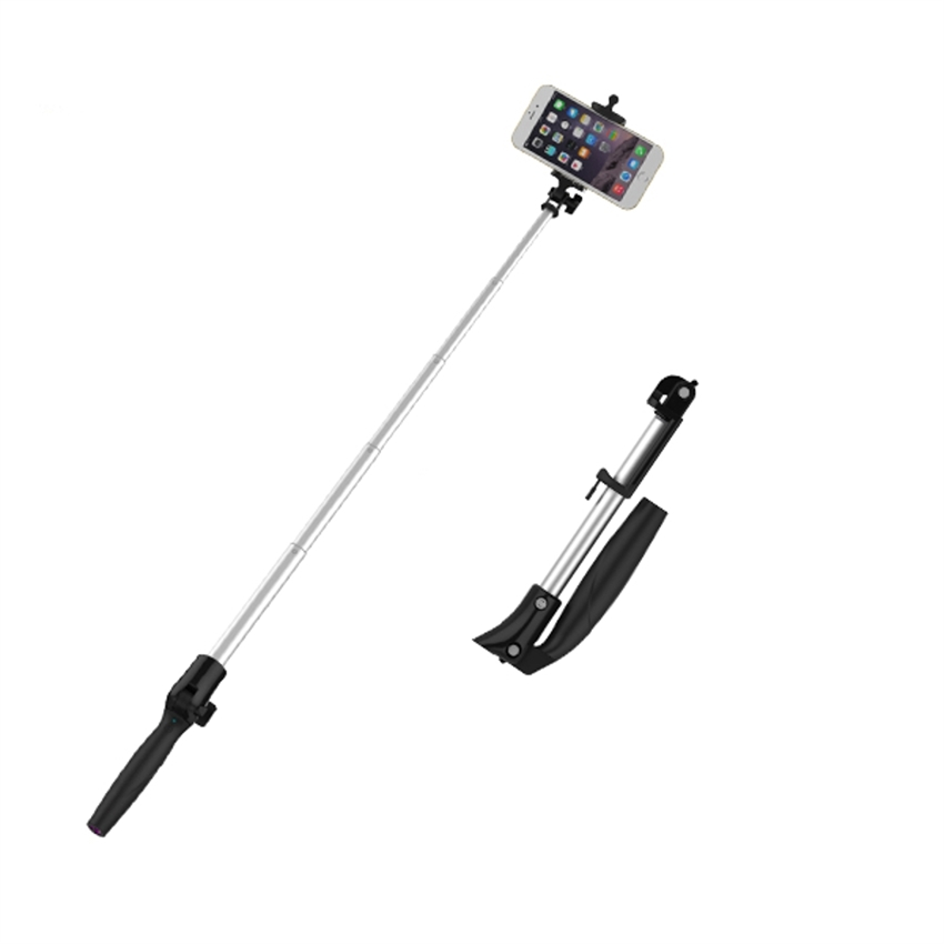 OEM/ODM AF-078 Bluetooth Selfie Stick Power Bank 2200mAh Aluminium Alloy Charging Mobile Phone Charger