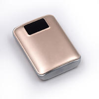 OEM/ODM AF-33 Dual USB LED Screen 18650 External Battery 7800mAh Portable ABS PMMA Charging