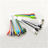 OEM/ODM AF-501Y USB Charging Cable for Mobile Phone MFI PVC Head 5 in 1 Micro Multi Mini