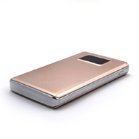 OEM/ODM AF-60B Dual USB LED Screen Polymer External Battery 9300mAh Portable ABS PMMA Charging