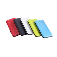 OEM/ODM AF-633 QC2.0 8000mAh Power Bank Ultra-thin Fast Charger Skin Texture