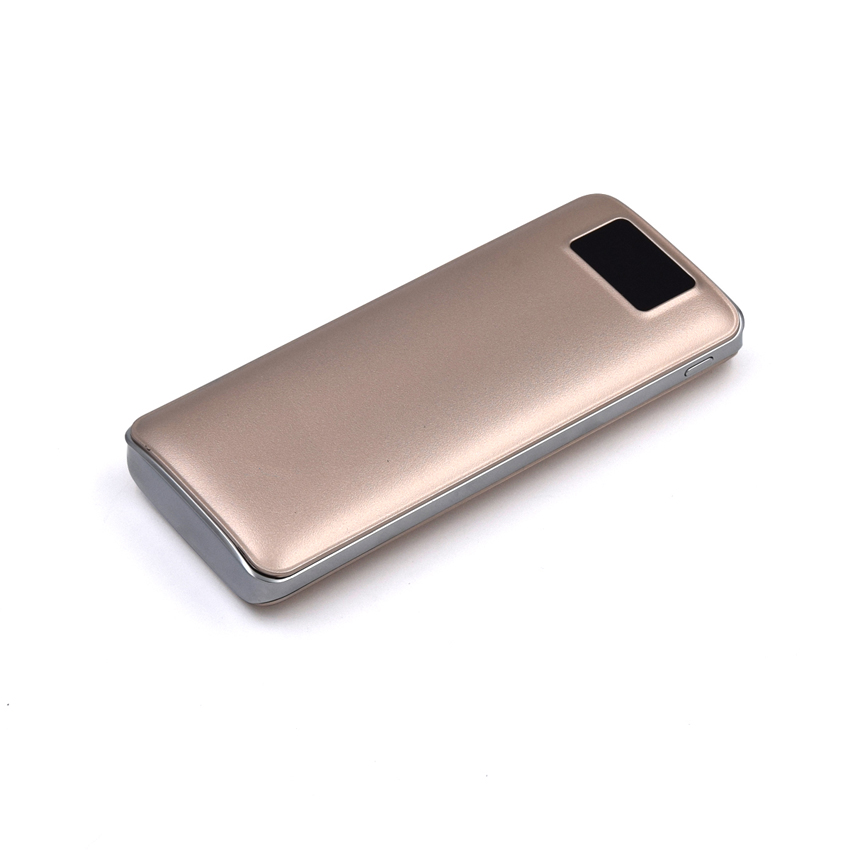 OEM/ODM AF-66 Dual USB LED Screen 18650 External Battery 15600mAh Portable ABS PMMA Charging