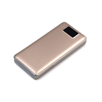 OEM/ODM AF-88 Three USB LED Screen 18650 External Battery 20000mAh Portable ABS PMMA Charging
