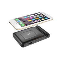 OEM/ODM AF-900 The Best Mini 4000mAh Wireless Qi Charging Treasure Gift Portable Charger