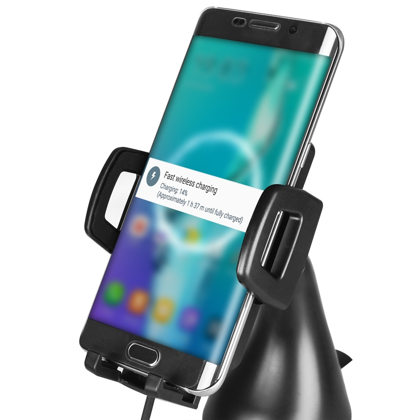 OEM/ODM AF-FC50 Wireless Qi Standard Car Charger Pad Holder Adapter Universal Smartphone Fast Charging