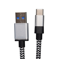 OEM/ODM AF-TC101 USB3.0 Type-C Data Cable 4A 3GB Nylon 0.08 Copper Wire Charger Cables 200CM