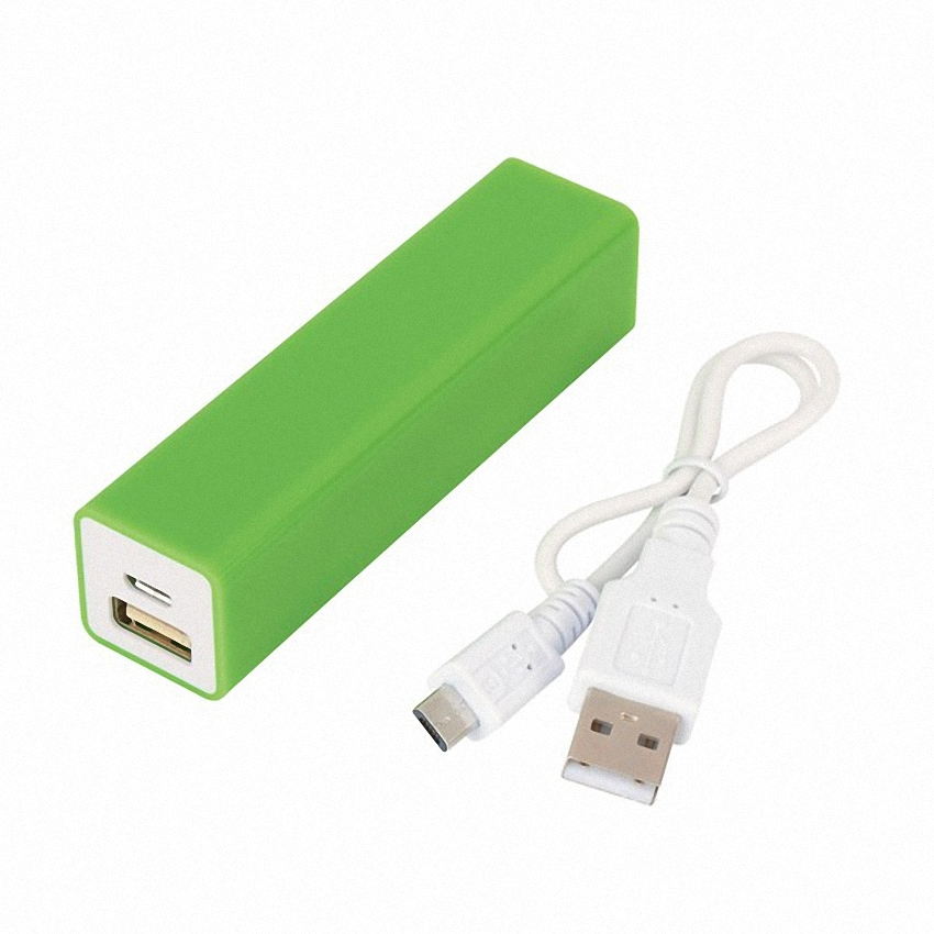 OEM/ODM AF-ULP08 ABS UL Gift Portable Source 2600mAh Mini Charging Li-polymer Battery Charger